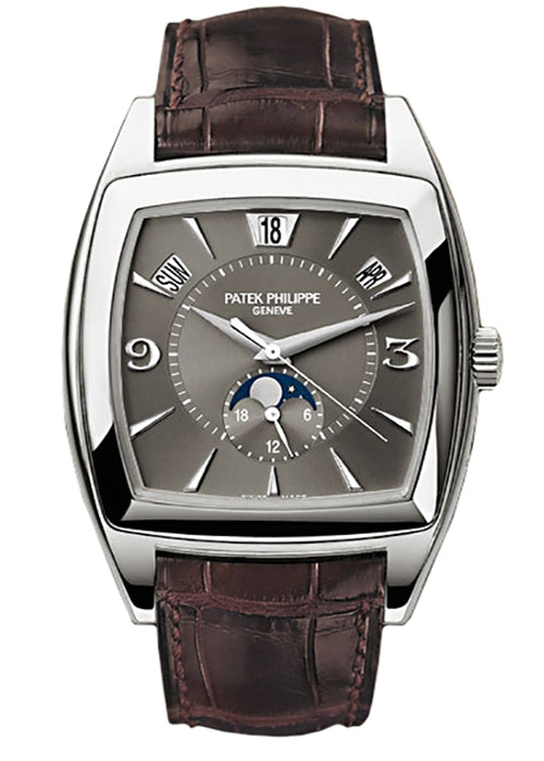 Complications Annual Calendar Moonphase AM/PM 18k White Gold 38mm