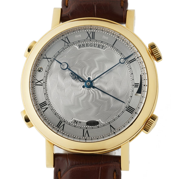 "La Musicale ""Thieving Magpie"" 18k Yellow Gold Alarm Silver Dial 48mm"