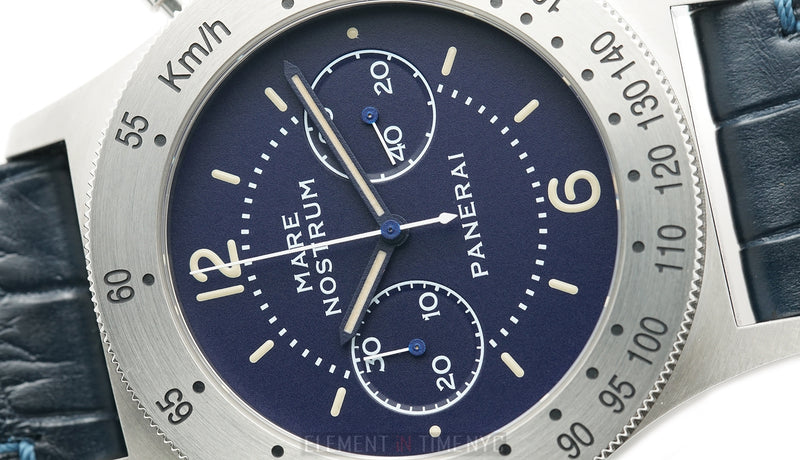Chronograph Stainless Steel Blue Dial 42mm