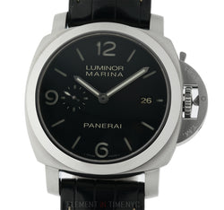 1950's 3 Day Stainless Steel Black Dial 44mm L Series 2009