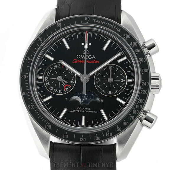 Moonwatch Co-Axial Master Chronometer Moonphase Black Dial