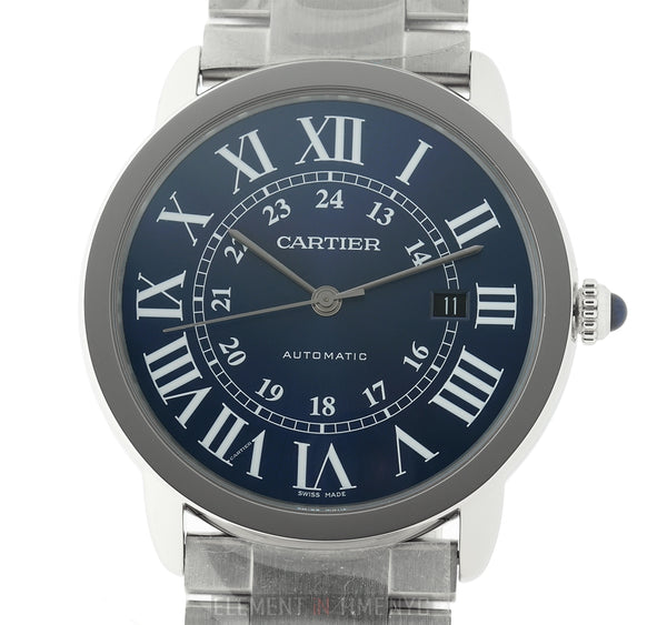 Stainless Steel Automatic Blue Dial 42mm