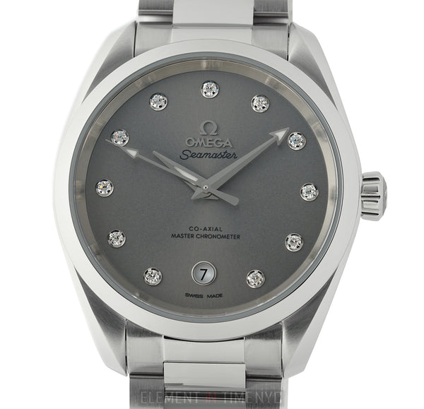 Aqua Terra 150M Co-Axial Master Chronometer 38mm Grey Diamond Dial