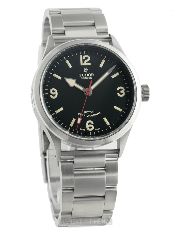 Ranger Stainless Steel Black Dial 41mm