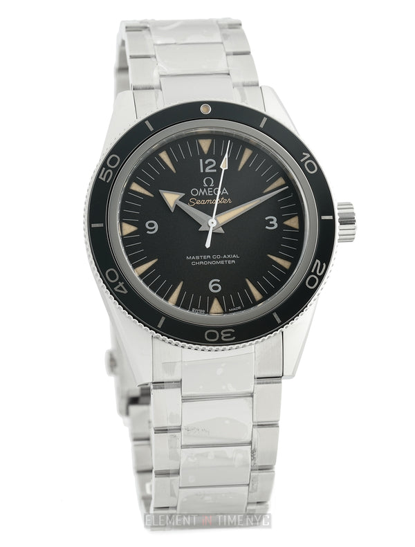 Aqua Terra 150M Co-axial 15,000 Gauss Stainlesss Steel Black Dial