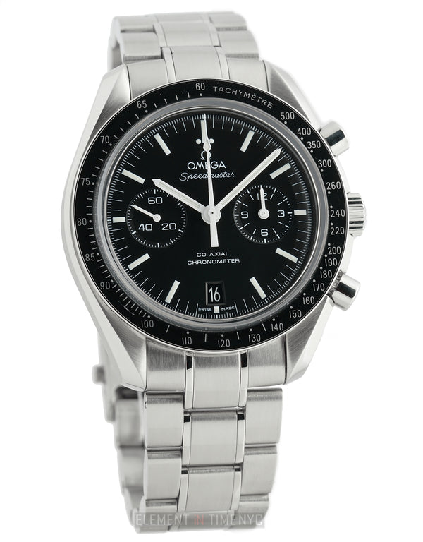 Moonwatch Chronograph Stainless Steel Black Dial 44mm