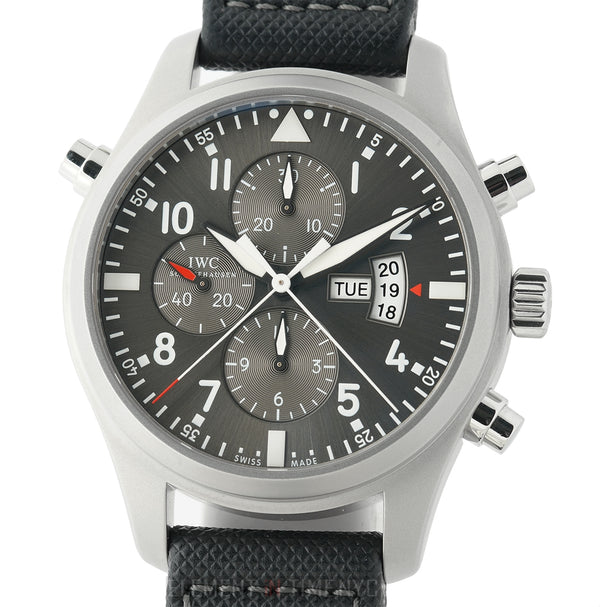 Patrouille Suisse Double Chronograph Steel 46mm Limited 250 Pieces 2014