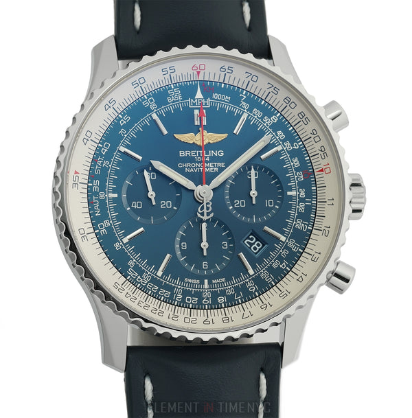 01 Chronograph Stainless Steel Blue Dial 46mm 2018