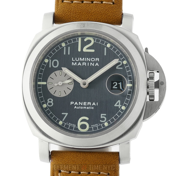 Luminor Marina Steel 44mm Anthracite Dial D Series Circa 2001