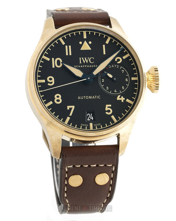 Big Pilot Heritage Bronze 7-Day Black Dial 46mm Limited 1500 Pieces 2017