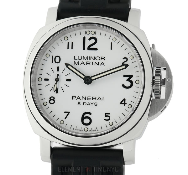 Lumminor Marina 8 Days Steel 44mm White Dial Q Series Circa 2014