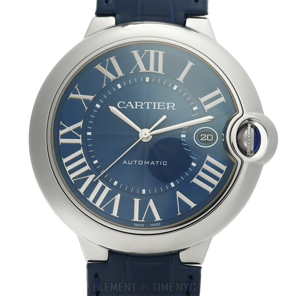 Stainless Steel 42mm Blue Dial Automatic