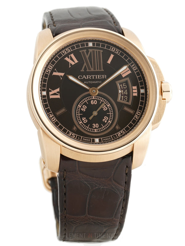 18k Rose Gold 42mm Chocolate Dial Automatic