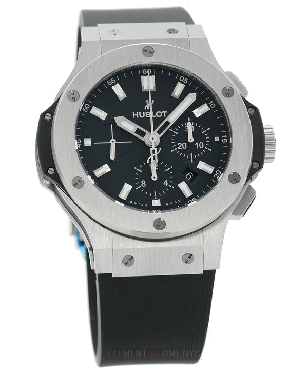 Chronograph Steel 44mm Black Dial Automatic