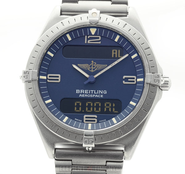 Titanium 40mm Blue Dial Full Set 1994