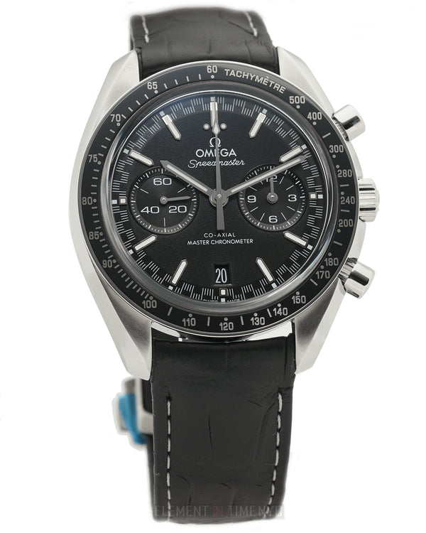 Racing Co-Axial Master Chronometer 44mm Black Dial