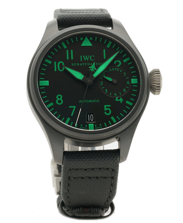 Big Pilot Top Gun Boutique Edition Ceramic 48mm Green XXX/500