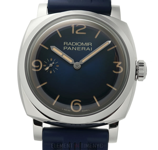 "1940 Blue Vignette ""Mediterraneo"" 47mm Boutique Exclusive"
