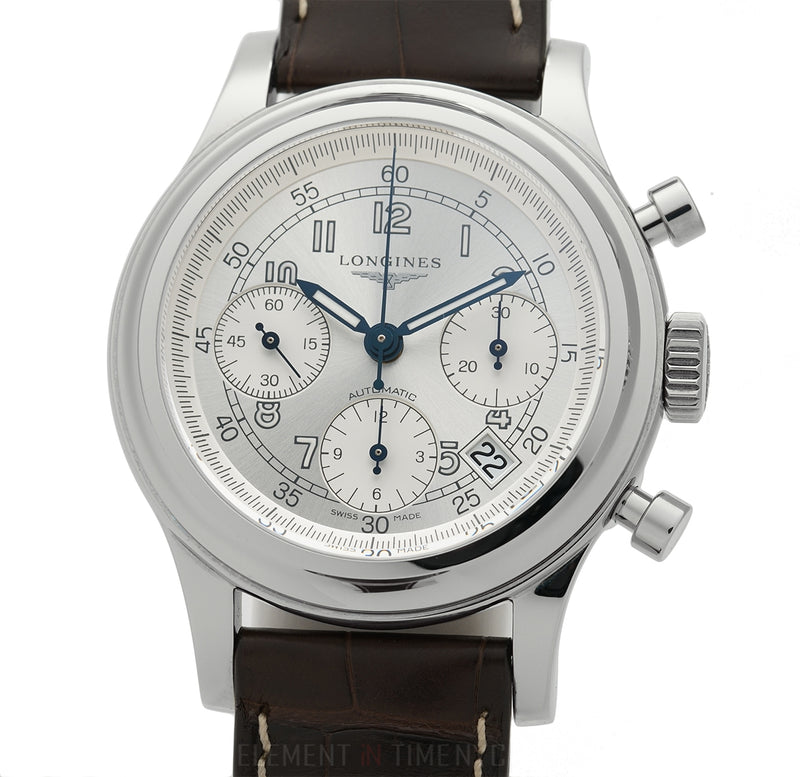 """Heritage 1951"" Chronograph 41mm Steel Silver Dial Automatic"