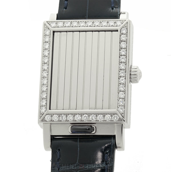 Shutter 18k White Gold Diamond Bezel Mechanical 26mm