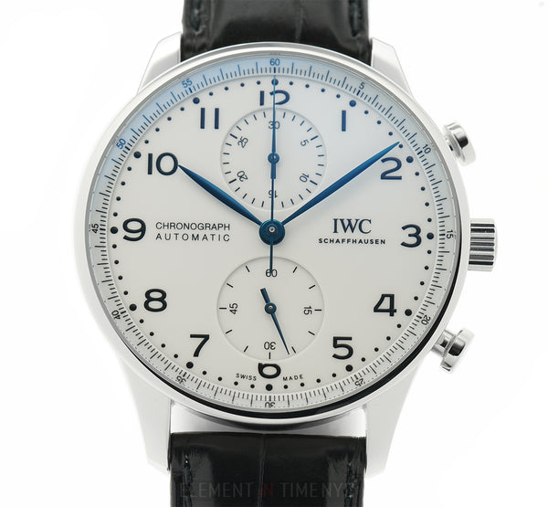 150 Years Chronograph Limited Edition Steel 41mm Lacquered White Dial