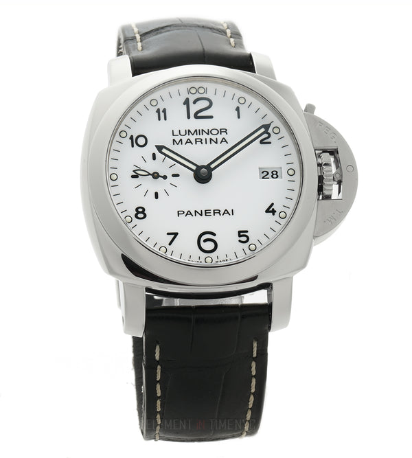 Luminor Marina 1950 3 Days Steel 42mm White Dial P Serial 2013
