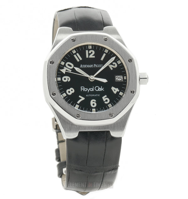 Stainless Steel Black Military Dial 36mm D Serial Circa 1990