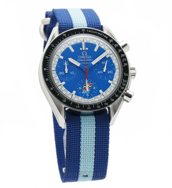 Reduced Indy Cart Andretti Limited Edition Blue Dial Automatic 36mm