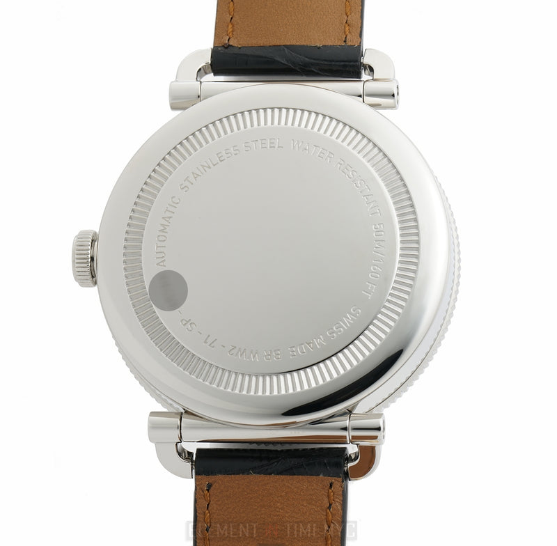 Regulateur Officer Panda 47mm Vintage-Style 3/2018