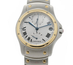 Aviator Stainless Steel And Yellow Gold 150th Anniversary Limited Edition Of 1847