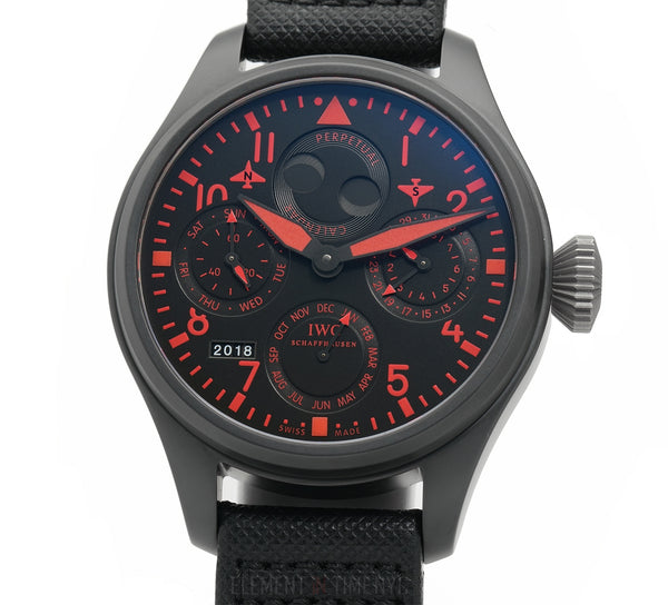 Big Pilot Perpetual Calendar Top Gun Red Boutique 2013 LTD ED XXX/250