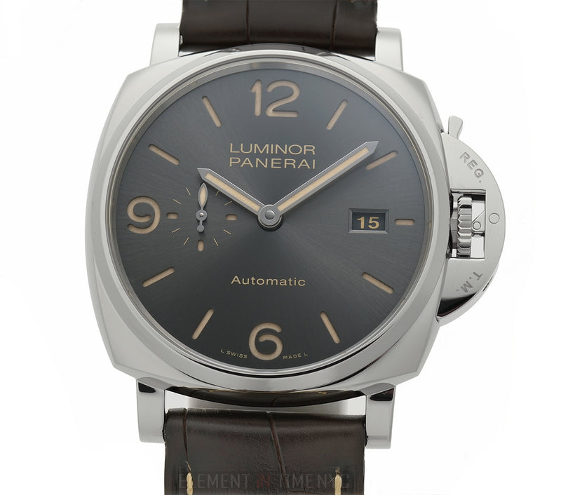Due 3 Day Power Reserve Anthracite Dial Automatic 45mm