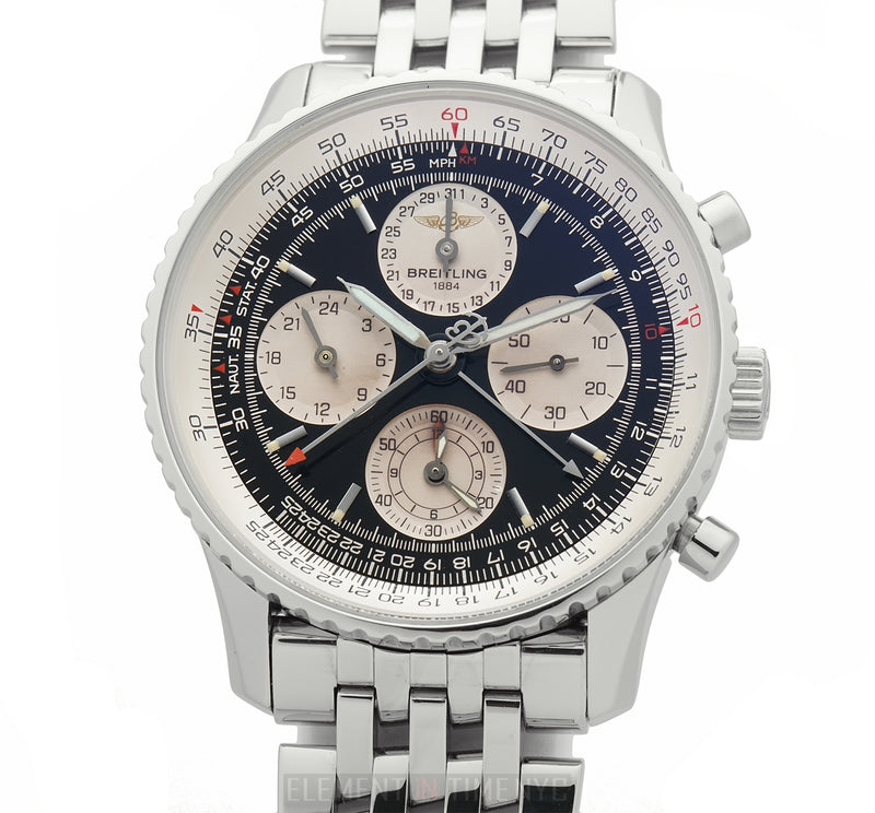 Twin Sixty Special Series Chronograph Steel 42mm Black Dial