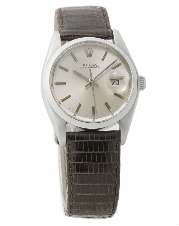 Vintage OysterDate Precision 34mm T Swiss Dial Circa 1978