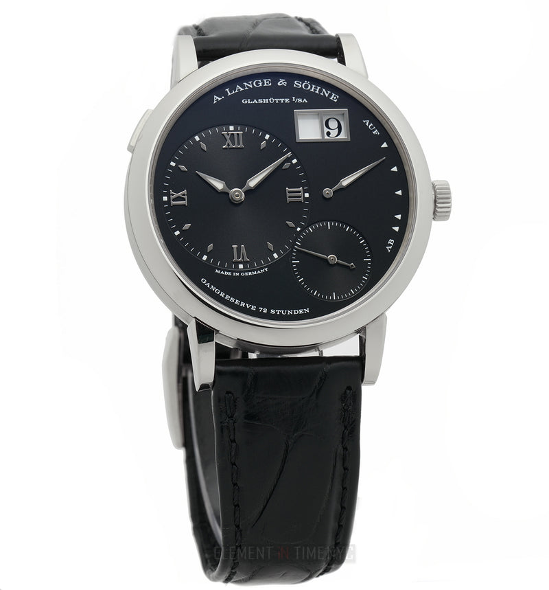 Grand Lange 1 18k White Gold 41mm Black Dial