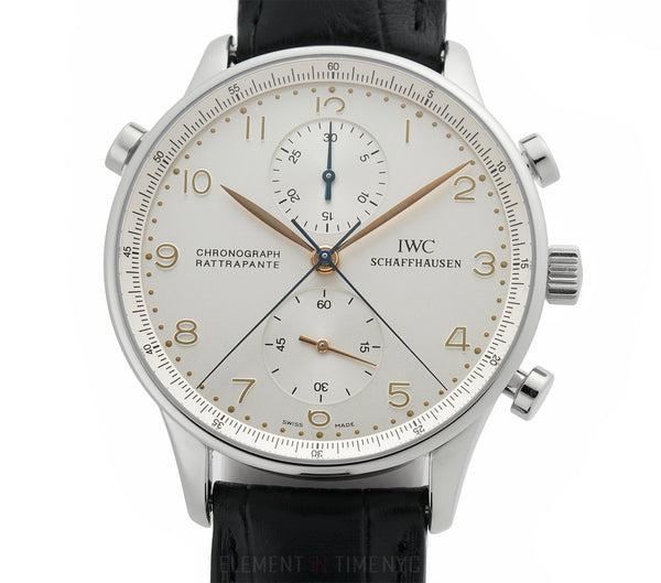 Split Second Rattrapante Chronograph Steel Silver Dial 41mm