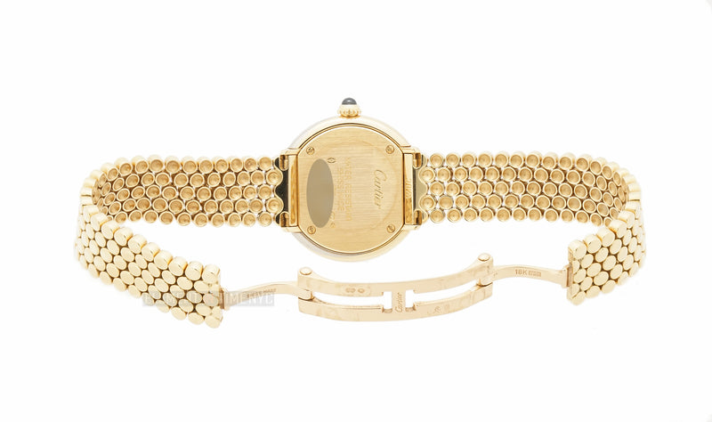 Yellow, Rose, And White Gold Bezel On Yellow Gold Bracelet 27mm