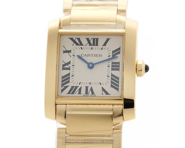 Tank Francaise Medium 25mm 18k Yellow Gold Quartz
