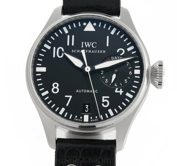 Big Pilot Steel 46mm Black Dial Full Set 2013