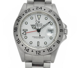 40mm White Dial F Serial With Papers 2004