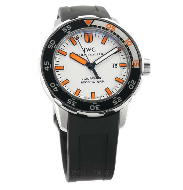 Orangina Fanta Steel 44mm White Dial Orange Accents Full Set 2010