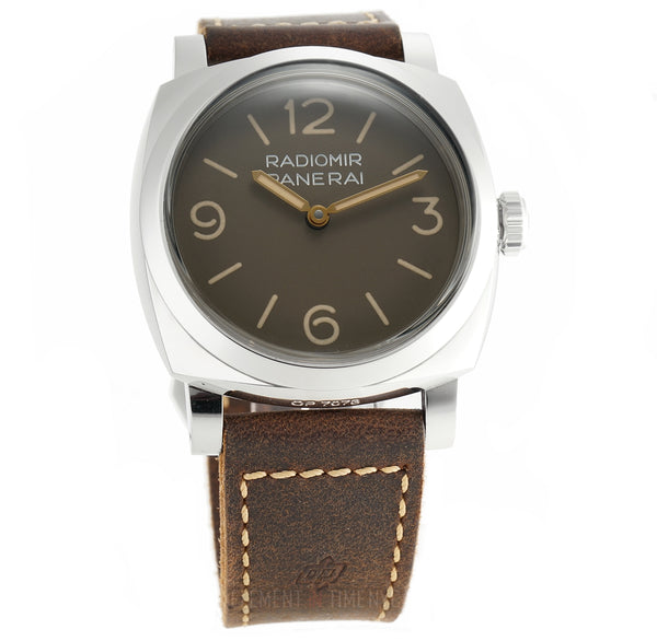 Radiomir 1940 3 Days Steel 47mm Brown Dial S Series