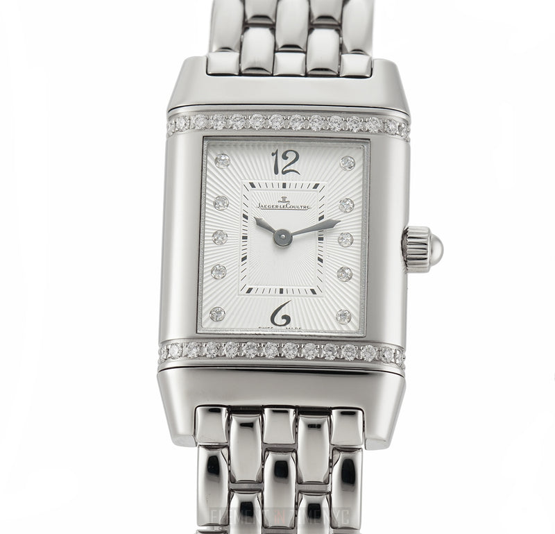 Florale Stainless Steel Diamond Bezel Diamond Dial 21mm