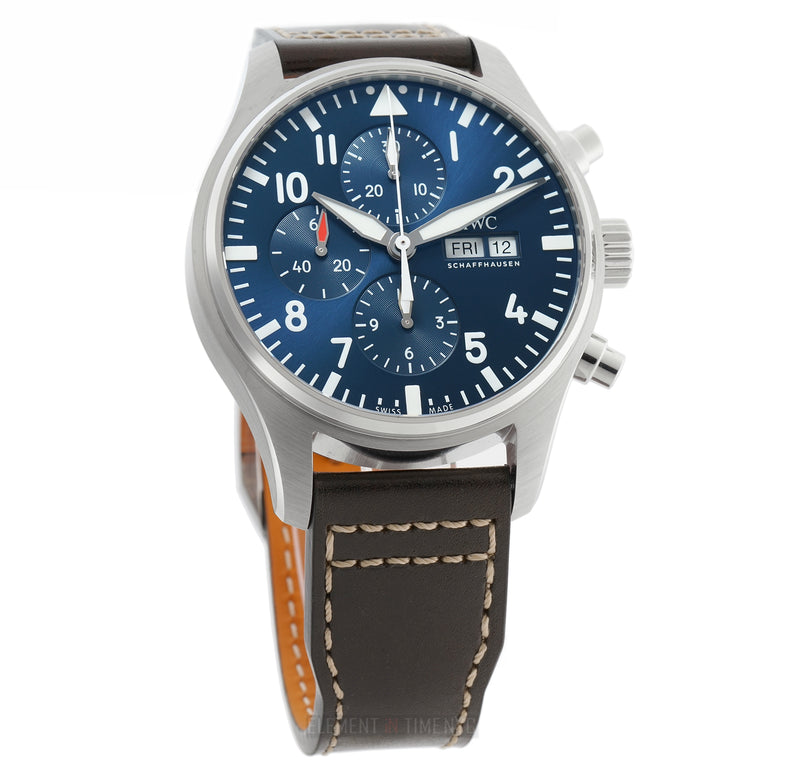 Chronograph Petit Prince Edition 43mm Steel Blue Dial
