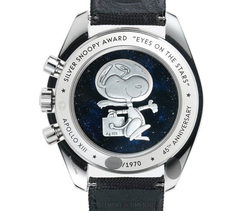 Apollo XIII Silver Snoopy Limited Edition Moonwatch Full Set 2015 Unpolished