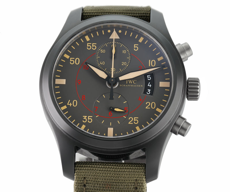 Top Gun Miramar Chronograph Black Ceramic 46mm Full Set 2016