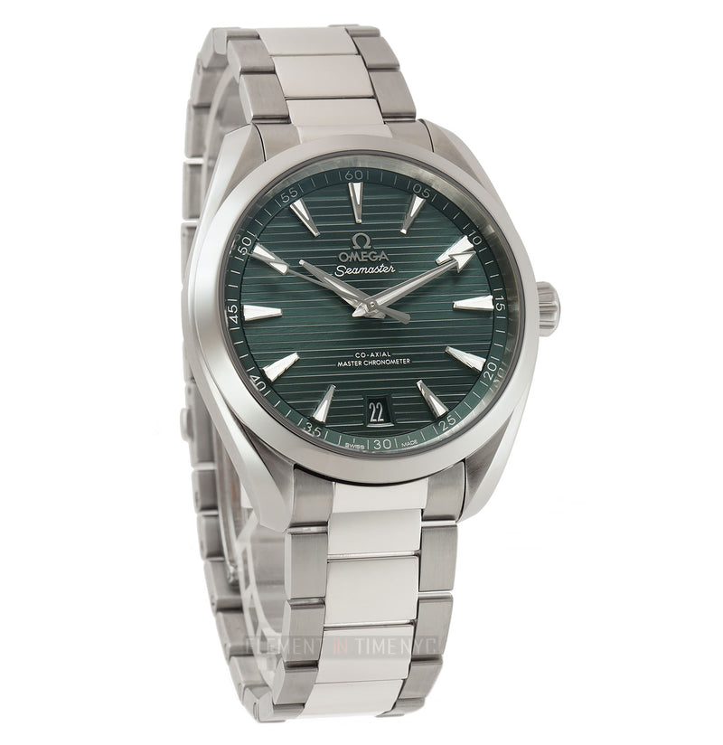 Aqua Terra 150m Co-Axial Master Chronometer Steel 41mm Green Dial