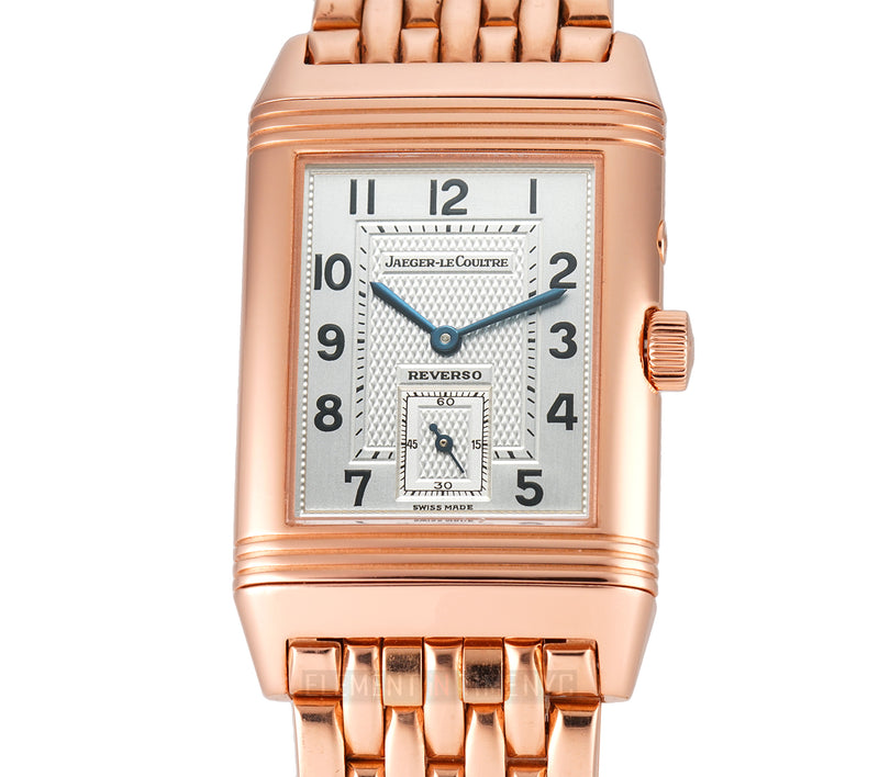 Duoface 18k Rose Gold on Bracelet 26mm 2020 Service Papers