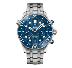 Diver 300m Co-Axial Master Chronometer Chronograph 44mm Blue Dial