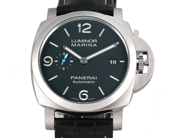 Luminor Marina 1950 3 Days Stainless Steel 44mm Black Dial